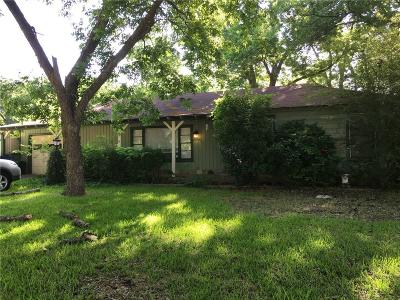 Mckinney Single Family Home Active Option Contract: 807 Baker Street