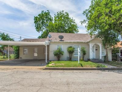 Palo Pinto County Single Family Home Active Contingent: 105 NW 9th Street