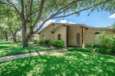 Plano Single Family Home Active Option Contract: 6000 Rainier Road
