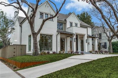 Dallas Single Family Home For Sale: 3140 Southwestern Boulevard