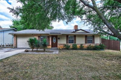 Lewisville Single Family Home Active Option Contract: 1244 Springwood Drive