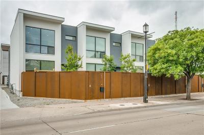 Dallas Townhouse For Sale: 471 Exposition Avenue