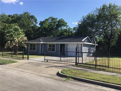 Fort Worth Single Family Home For Sale: 3500 Fairfax Avenue