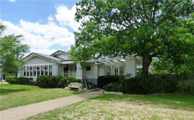 Eastland Single Family Home For Sale: 903 S Daugherty Avenue S