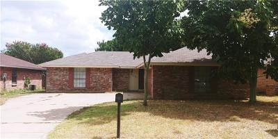 Fort Worth TX Single Family Home For Sale: $150,000