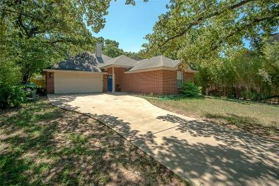 Denton Single Family Home Active Option Contract: 2005 Leslie Street