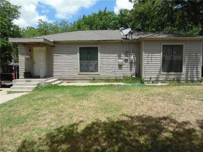 Dallas Single Family Home For Sale: 2313 Sheridan