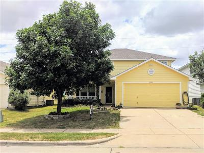 Waxahachie Single Family Home For Sale: 1585 Wildflower Drive