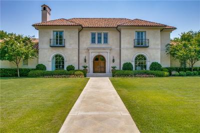 Dallas Single Family Home For Sale: 5610 Stonegate Road