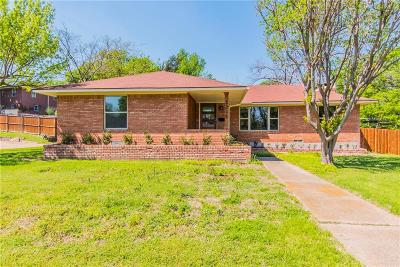 Dallas Single Family Home For Sale: 3215 S Franklin Street
