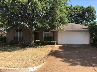 Fort Worth Single Family Home For Sale: 3753 Clear Brook Circle