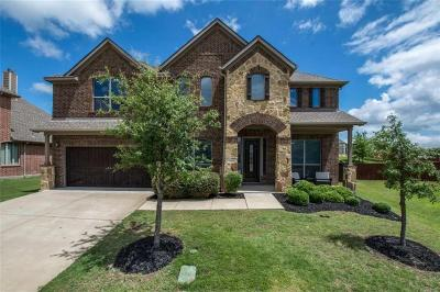 Mckinney Single Family Home Active Option Contract: 4104 0ak Hill Court