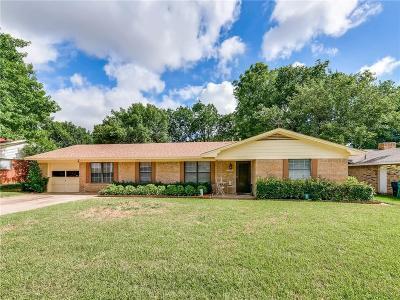 Denton Single Family Home For Sale: 1212 Tulane Drive