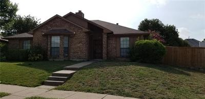 Garland Residential Lease For Lease: 2102 Woodglen Drive