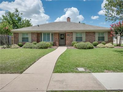 Richardson Single Family Home Active Option Contract: 1605 N Meadowgate Drive N