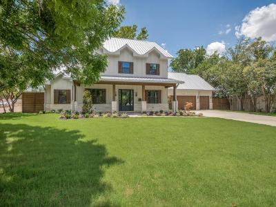 Dallas Single Family Home For Sale: 4178 Beaver Brook Lane