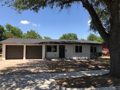 Fort Worth TX Single Family Home For Sale: $163,000