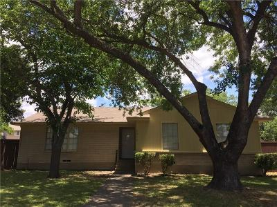Garland Residential Lease For Lease: 3313 Bobbie Court
