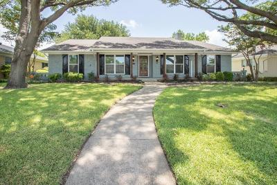 Dallas Single Family Home For Sale: 12118 Lochwood Boulevard
