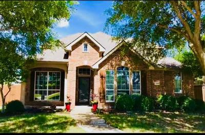 Frisco Single Family Home For Sale: 7488 Creekmere Drive