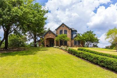 Weatherford Single Family Home Active Option Contract: 206 Rustic Harbour Court