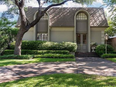 Highland Park TX Single Family Home For Sale: $1,449,000