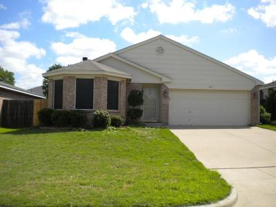 Mansfield Residential Lease For Lease: 513 Hollyberry Drive