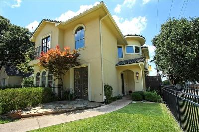 Dallas Single Family Home For Sale: 5600 Anita Street