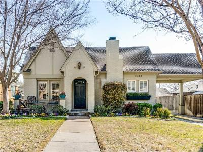 Fort Worth Single Family Home Active Option Contract: 2313 Ashland Avenue