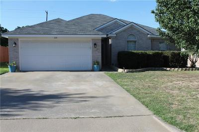 Weatherford Single Family Home Active Option Contract: 326 Dalhart Drive