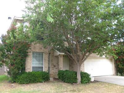Saginaw Single Family Home Active Option Contract: 641 Crystal Brook Drive