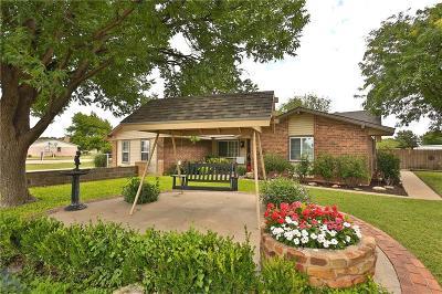 Abilene Single Family Home For Sale: 1008 Wolfe Road