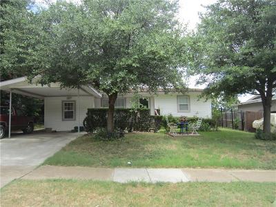 Grand Prairie Single Family Home Active Option Contract: 1114 Huddleston Drive
