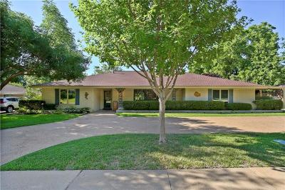 Plano Single Family Home Active Contingent: 1604 Westlake Drive