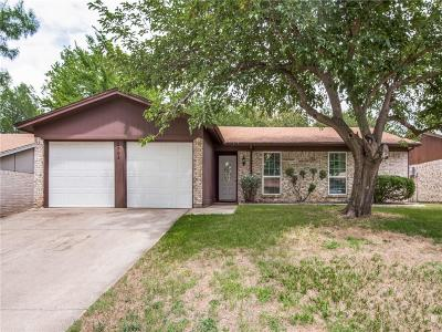 Irving Single Family Home Active Contingent: 2704 Springlake Court