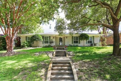 Richardson Single Family Home Active Option Contract: 307 Lawndale Drive