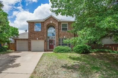 North Richland Hills Single Family Home For Sale: 7845 Ember Oaks Drive