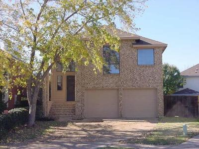Lewisville Single Family Home For Sale: 1806 Cactus Circle