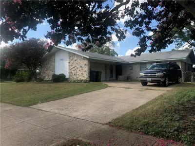 Garland Single Family Home For Sale: 3233 Western Drive