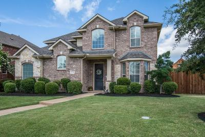 Frisco Single Family Home Active Option Contract: 9766 Castlerock Trail