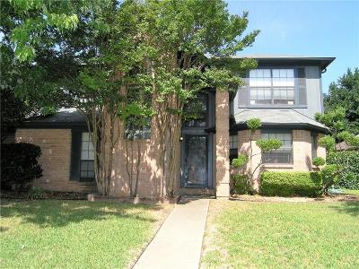 Grand Prairie Single Family Home Active Option Contract: 4229 Endicott Drive