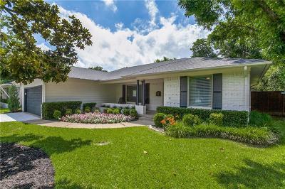 Dallas Single Family Home For Sale: 6709 Braeburn Drive