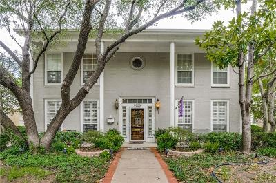 Fort Worth Single Family Home For Sale: 3129 Wabash Avenue