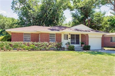 Carrollton Single Family Home For Sale: 1806 Baxley Drive