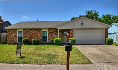 North Richland Hills Single Family Home For Sale: 6900 Glendale Drive