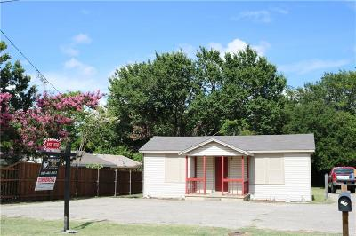Weatherford Single Family Home For Sale: 111 Cottonwood Street