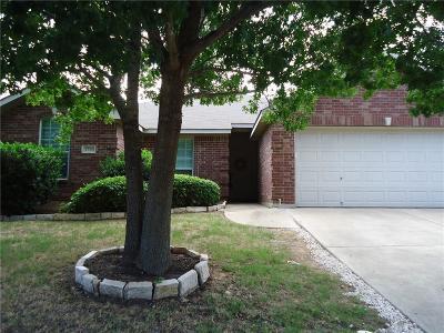 Denton Single Family Home Active Option Contract: 4704 Napa Valley Drive