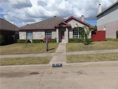 Cedar Hill Single Family Home Active Option Contract: 1814 Taylor Street