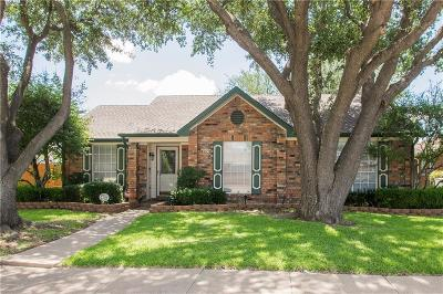 Garland Single Family Home Active Option Contract: 2206 Lancecrest Drive