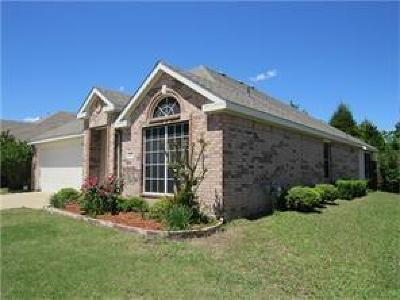 Garland Single Family Home Active Option Contract: 3709 English Oak Drive